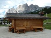 Tetto in Scandola Cortina d'Ampezzo