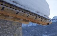 Grondaie in legno di Larice e Abete Bianco